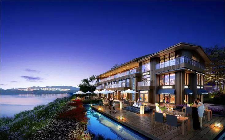 新亚洲风格建筑_顺应时代美学潮流,云湖湾以新亚洲建筑语系为蓝本,将传统和现代风格
